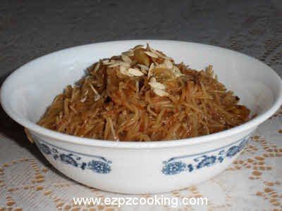 Meethe Jave (Sweet Vermicelli) Recipe