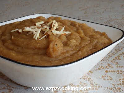 Suji Ka Halwa (Semolina Pudding) Recipe