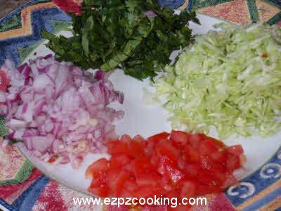 how to make vegetable uttapam