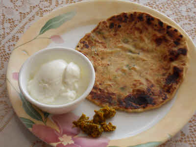 Aloo Parantha is ready