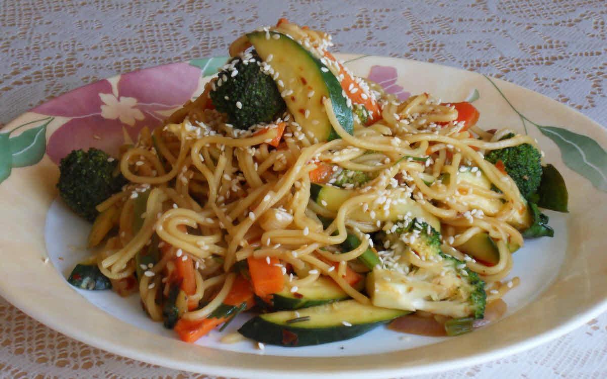 Mongolian Noodles