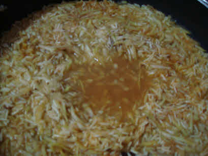 Added water for Lauki Pulao