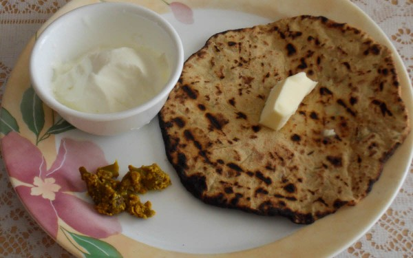 Aloo Stuffed Roti
