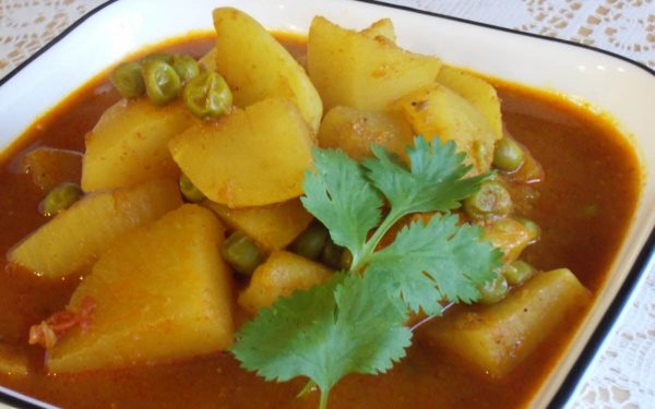 Shalgam (Turnip) Curry