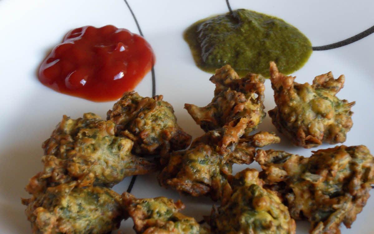 Spinach Pakori