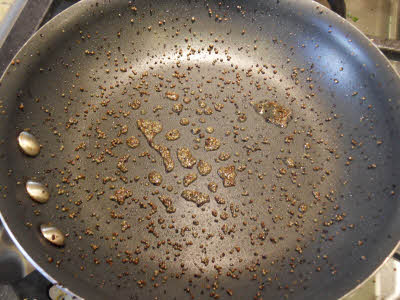Pop the mustard seeds for curd rice