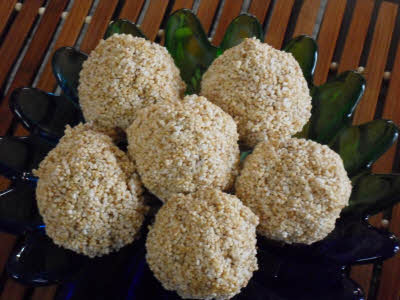 Chaulai Ke Laddu Recipe