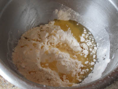 Prepare the papri dough