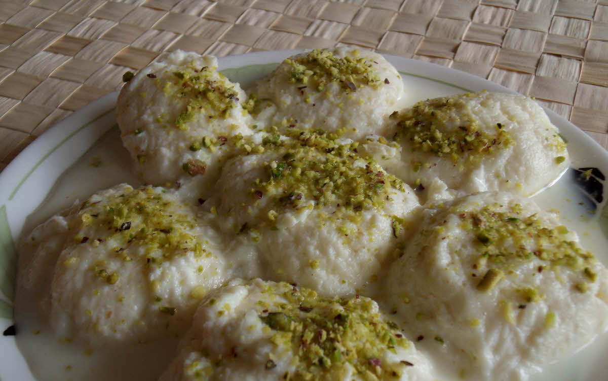 how to make rasmalai sweet