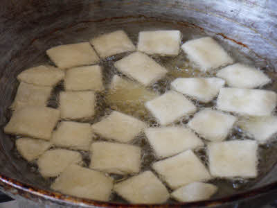 Frying Papri
