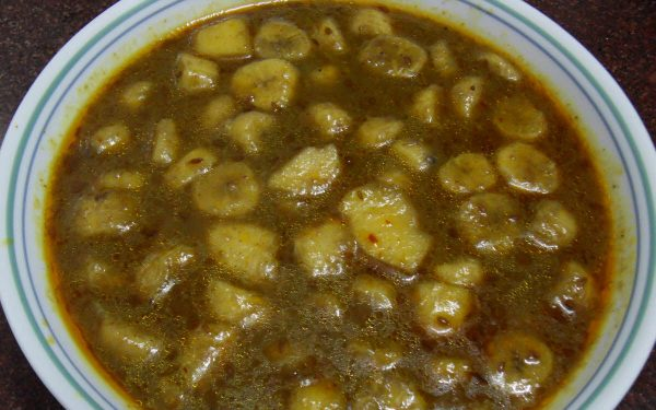 Sweet Banana Curry