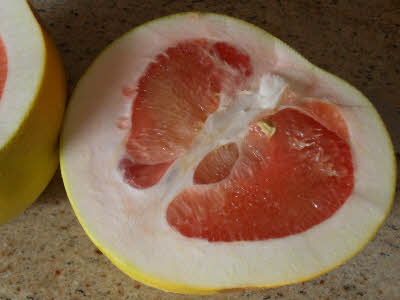 Clean pomelo