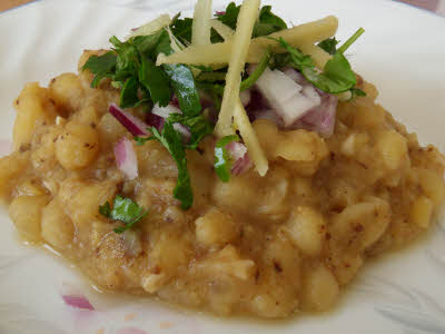Matara (Dried Peas) Recipe