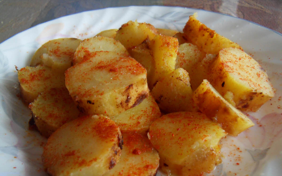 Shakarkand (Sweet Potato) Chaat