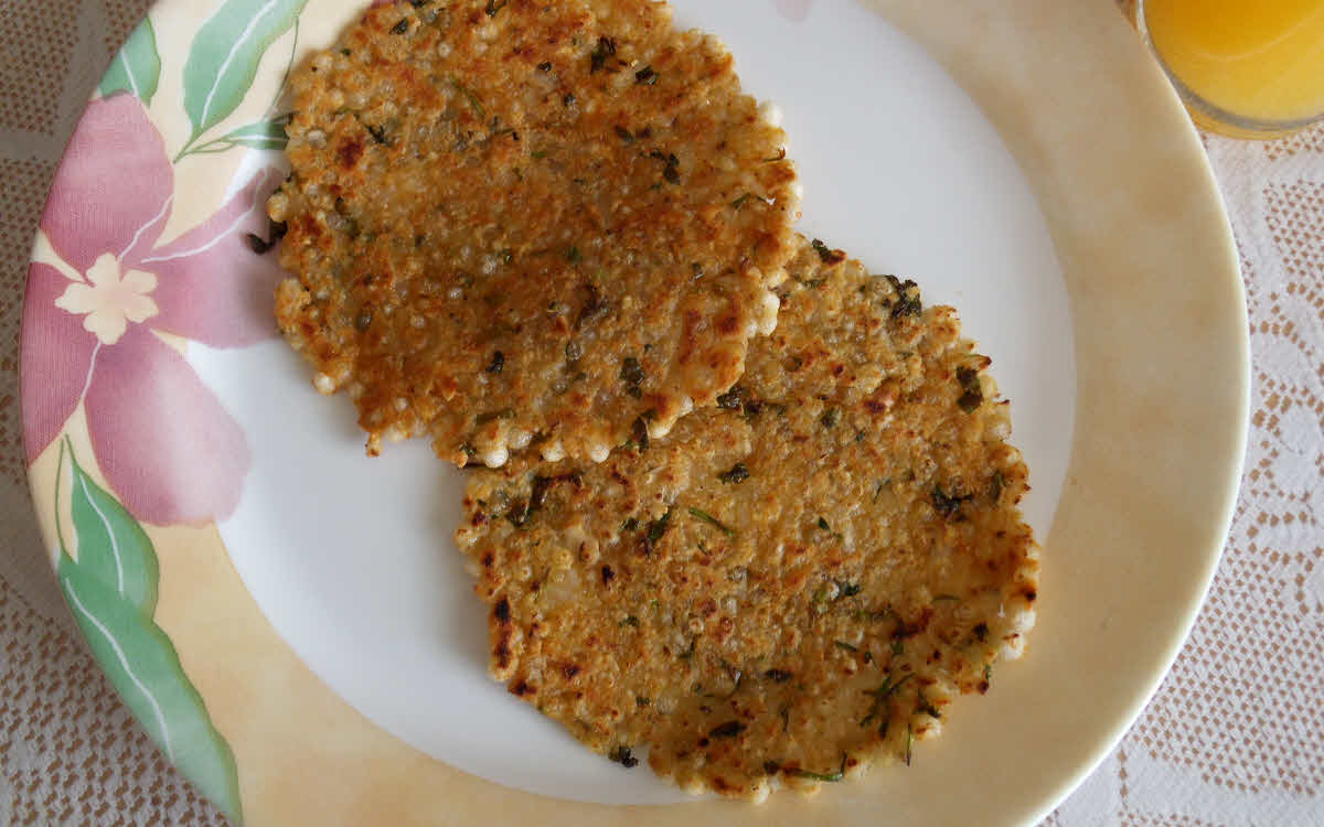 Sabudana Thalipeeth (Tapioca Pancake)
