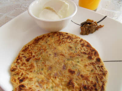 Paneer Parantha is ready