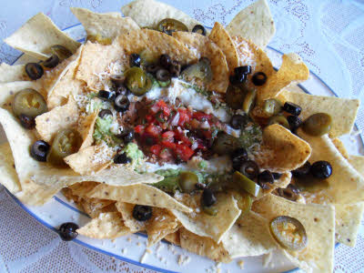 Add toppings for Nachos