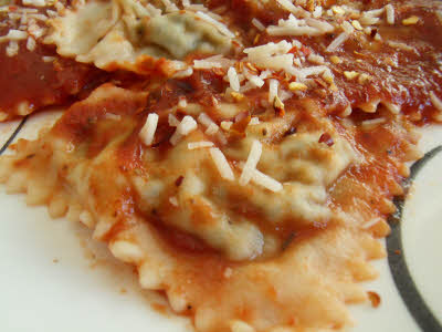 Spinach Cheese Ravioli