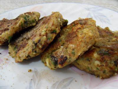 Chickpeas Kebab