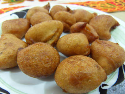 Poode (Sweet Wheat Flour Dumplings) Recipe