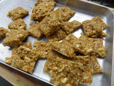 Nutty Jaggery (Gur) Recipe