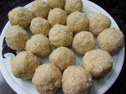 Sesame Seed Laddoos are ready