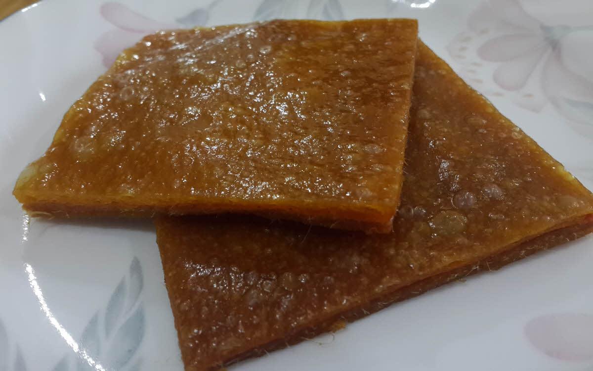 Aam Papad (Mango Leather)