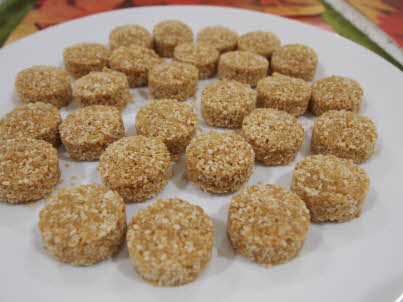 Gur Til Laddoo are ready to serve