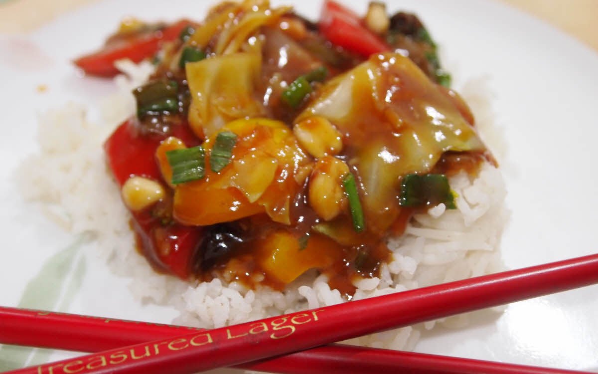 Kung Pao Vegetables