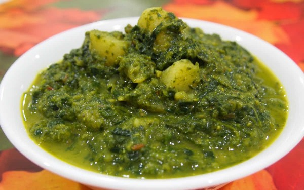 Palak Methi Aloo Curry