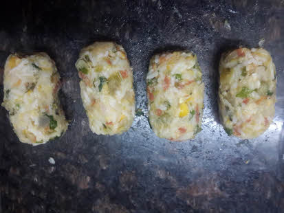 Make small cutlets