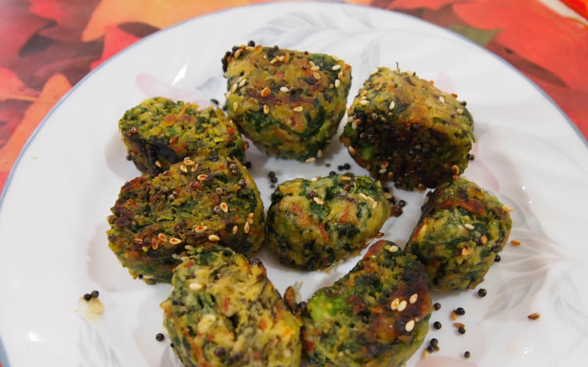 Mixed Vegetable Muthiya