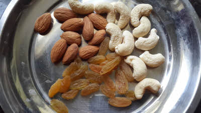 Nuts for Samak Rice Kheer