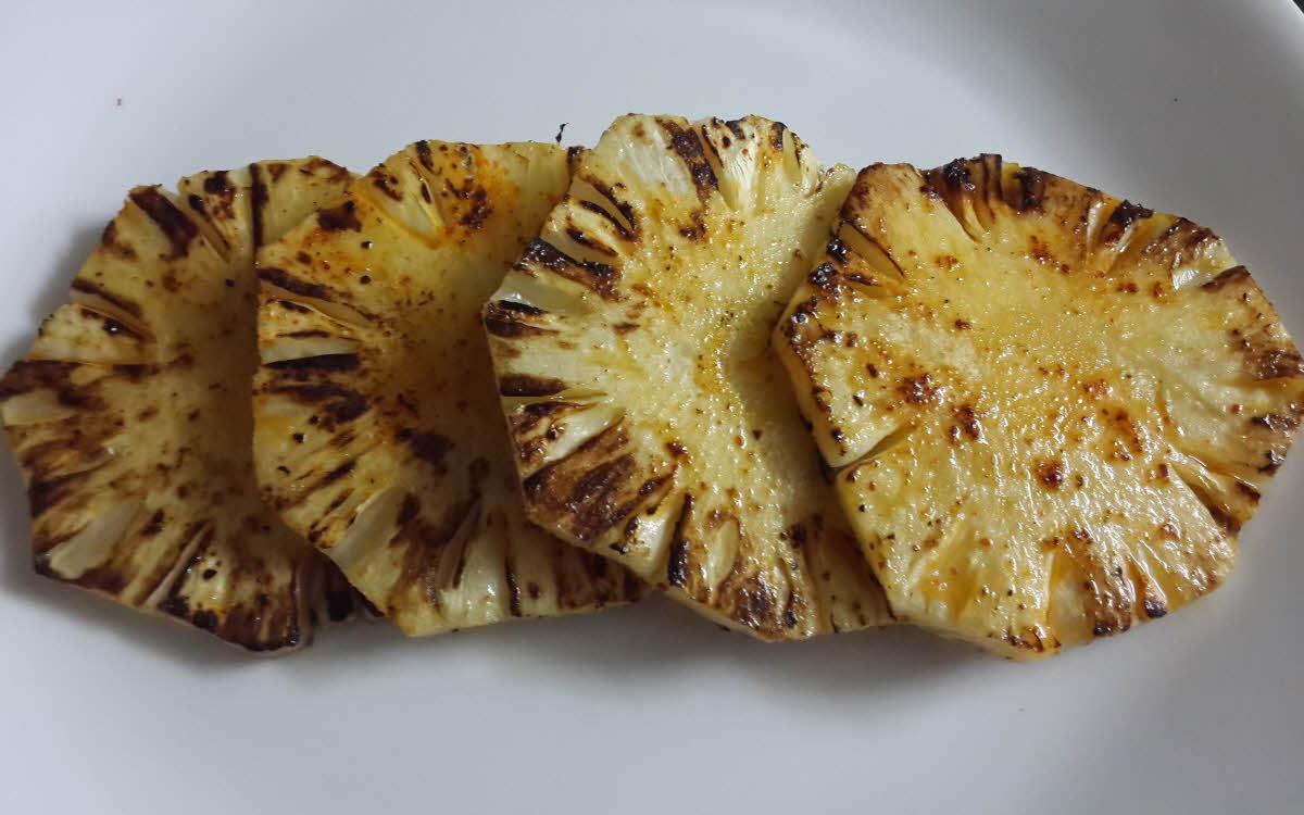 Tandoori Pineapple