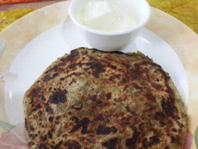 Methi Parantha is ready