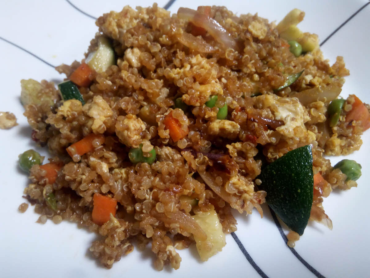 Fried Quinoa