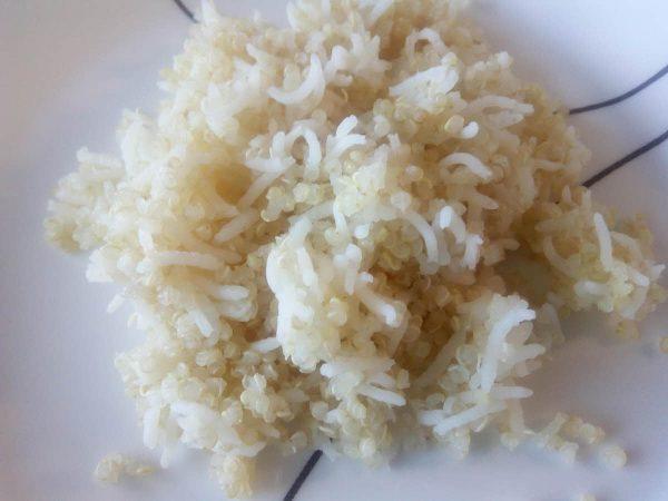 Steamed Quinoa