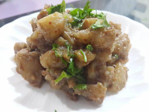 Singhare Ki Sabji