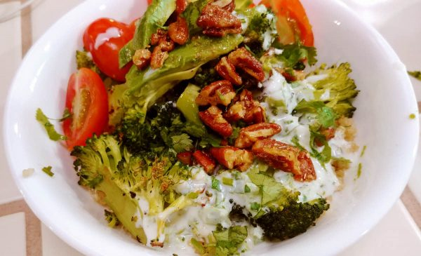 Roasted Broccoli Quinoa