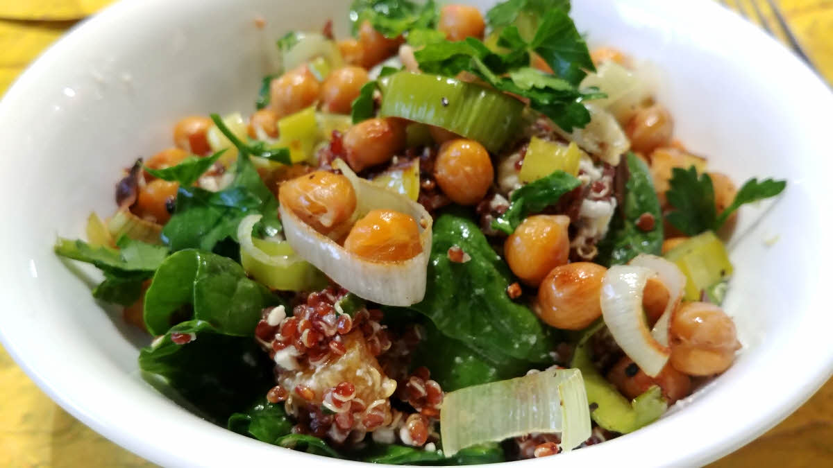 Spinach Feta Quinoa