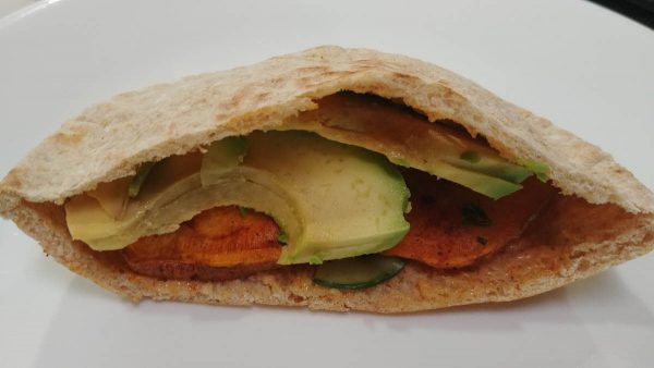 Sweet Potatoes Pita Pockets
