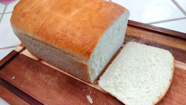 Classic White Bread Loaf