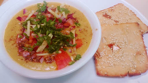 Moradabadi dal with biscuity roti is ready
