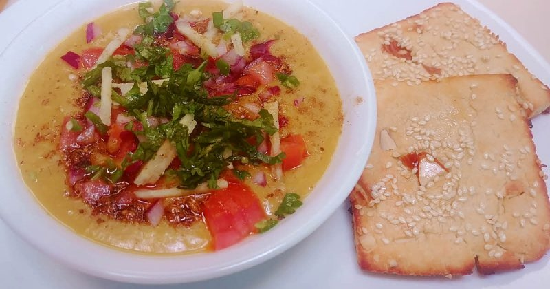 Moradabadi Dal With Biscuity Roti
