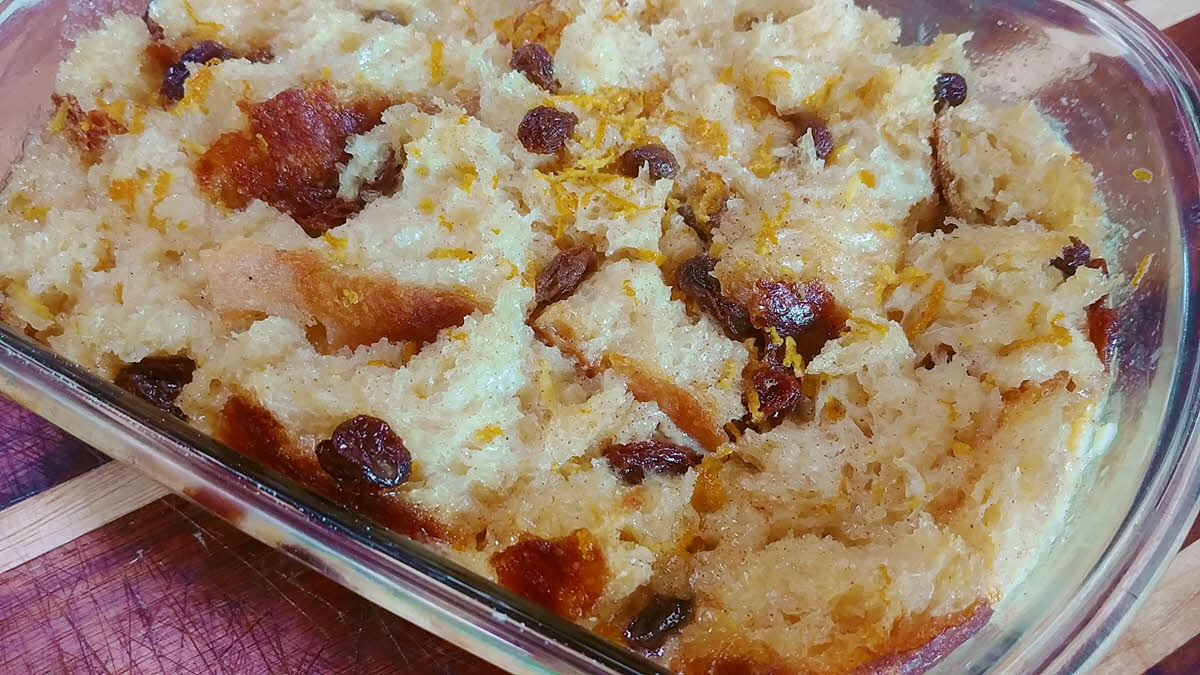 Sweet Bread pudding