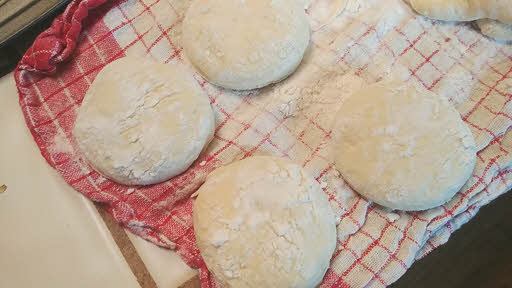 Cut the english muffins