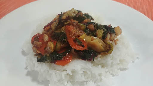 Chinese Vegetable Stir Fry is ready