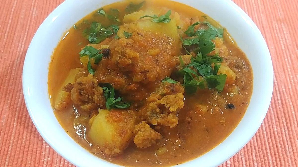 Aloo Badi Curry