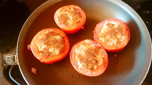 Stuffed Tomatoes are ready