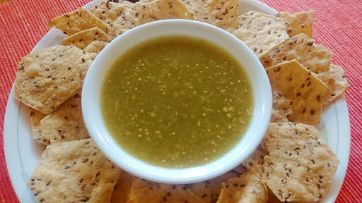 Salsa verde is ready
